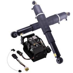 Image 4 - Suspension Air Shocks + คอมเพรสเซอร์สำหรับ Cadillac Escalade Suburban 1500 Z55