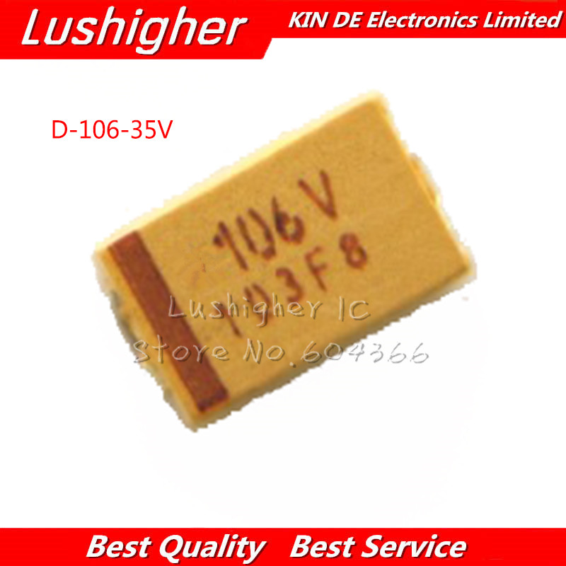 50PCS C6032 25V 47uF 476E C-type SMD tantalum capacitor