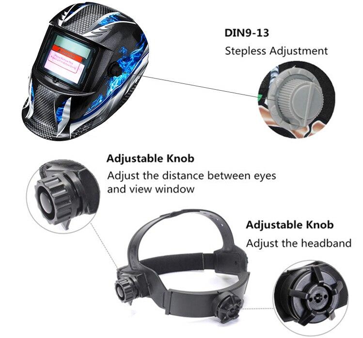 Профессиональная Солнечная Авто Затемнение MIG MMA электрическая Сварочная маска шлем сварочные линзы для сварочного аппарата