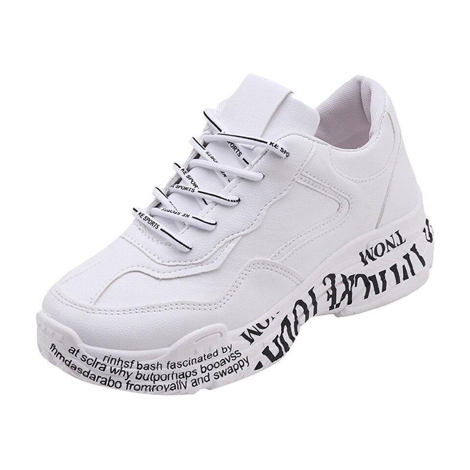 SAGACE modne buty damskie casual wygodne adidasy damskie damskie mieszane kolory sznurowane okrągłe Toe Casual sportowe buty damskie