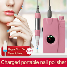 11.11 Oplaadbare 30000Rpm Cordless Nail Boor Machine Draagbare Elektrische Nail File Manicure Pedicure Machine Keramische Nail Boor