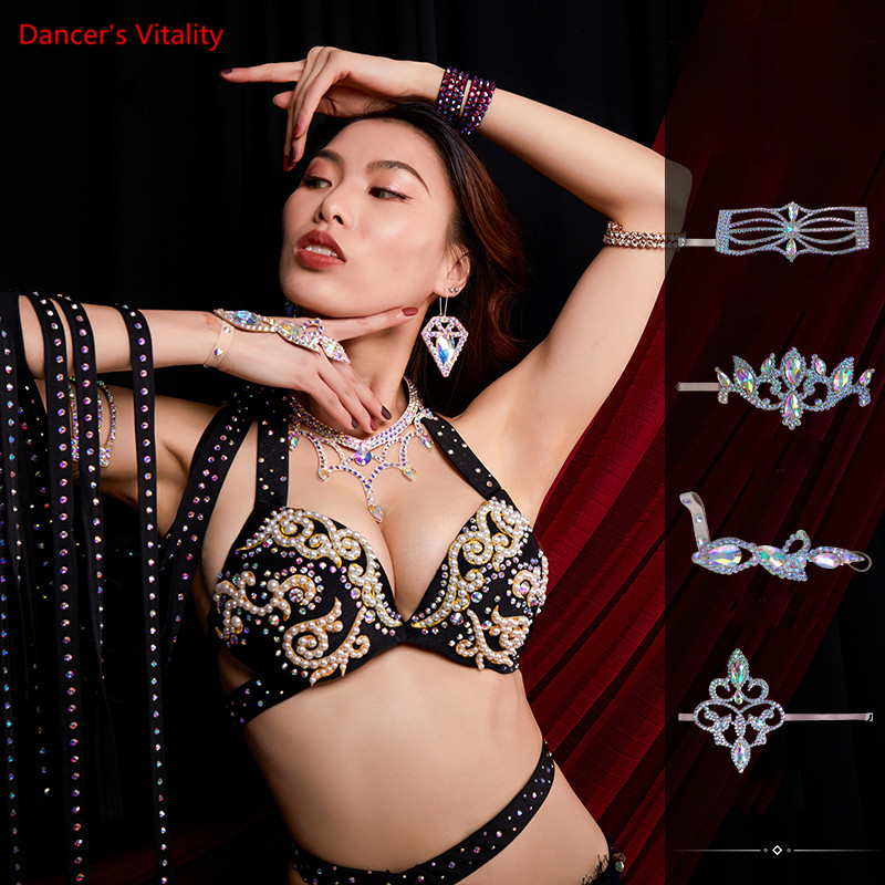 Dance Arm Ring Women Stage Performance Bracelet Accessories Personality Jewelry Magic Color Jewelry Foot Ring Decoration