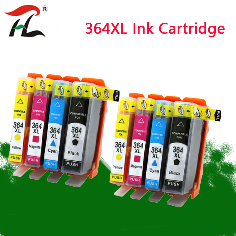 Compatible Ink Cartridge For HP364 364 XL For Hp 3070A 3520 3522 4620 4622 5511 5512 5514 5515 5520 5522 5524 6515 Printer