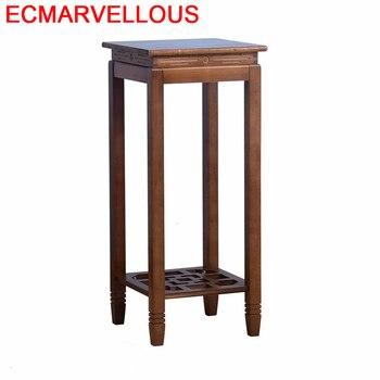 Estantes de madera Estanteria Jardin, maceta para interiores, mesa de Terraza para...