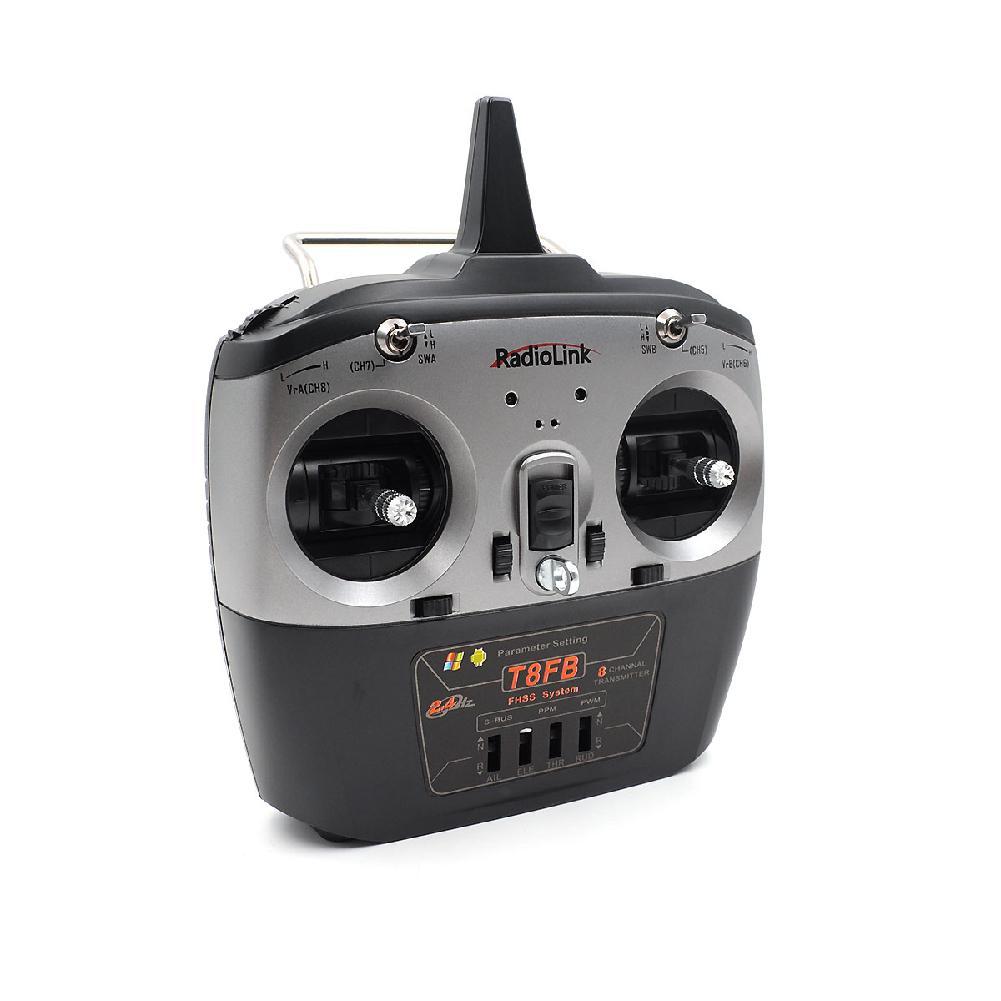 Radiolink T8FB télécommande 2.4G 8 canaux R8EF ou R8FM en option pour hélicoptère télécommandé à aile fixe pour Drone