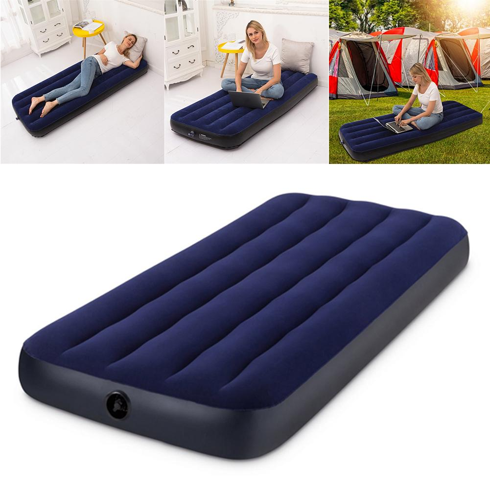Dreamcatcher Inflatable Mattress Double Blow up Air Bed with Built in Pump