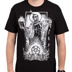 A tua Arte É Assassinato Mal T-Shirt Padre S-3XL Nova Camisa Dos Homens T de Manga Curta Impressão Casua Camisa Impressão de T para Homens Top Tee