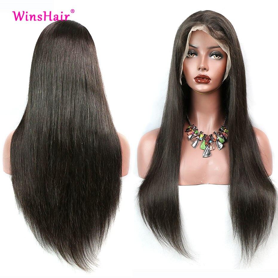 Winshair 13x6 Синтетические волосы на кружеве парики из натуральных волос на кружевной зонтик гольфа 30 Inch Синтетические волосы на кружеве парик ...