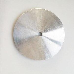 """Image 1 - 6 """" / 8"""" אלומיניום מאסטר חיק ליטוש צלחת בעל ליהלומי גריסה Pad/מלטש דיסק"""