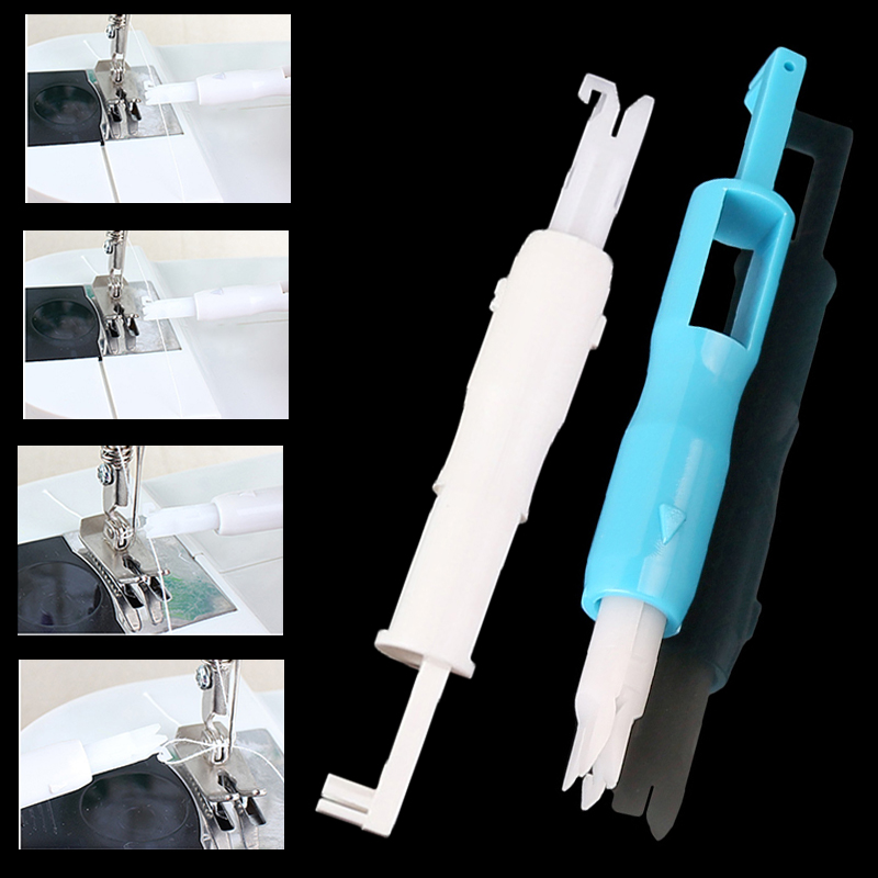 1pc Plastic Threader Sewing Tools Accessory Automatic Machine Sewing Needle Device Needle Changer Lead Wire Threader Tool