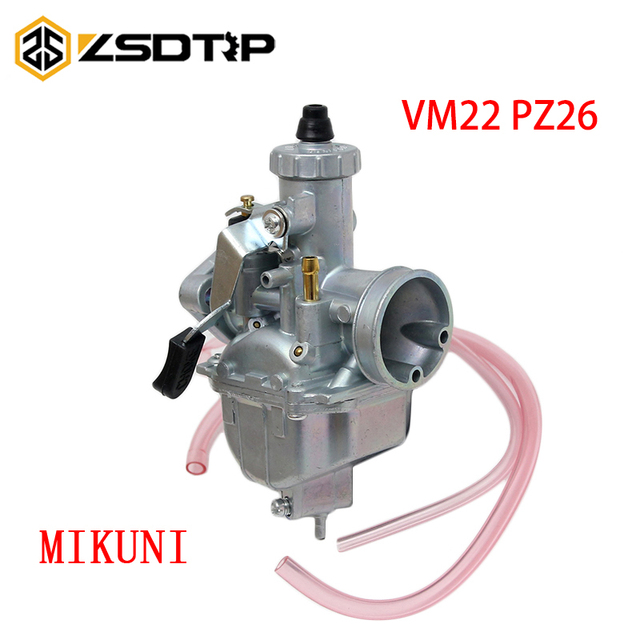 ZSDTRP 26mm קרבורטור VM22 פחמימות ליפאן YX SSR CRF50 CRF70 140 125 110 cc מנוע Mikuni בור אופני טרקטורונים