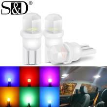 Bombillas LED de alta calidad T10 W5W para intermitente lateral de coche, WY5W, 501, 168, 192, luces de matrícula de estacionamiento, 1 ud.