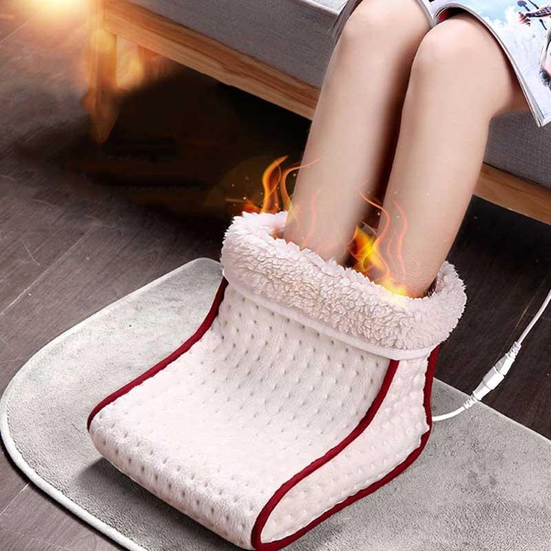 Electric Heated seat Warm Foot Warmer heating pad Washable Heats Control Settings Warmer Cushion Thermal Foot Warm Massage Gift 1