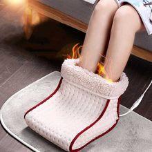 Chauffe-pied électrique lavable avec contrôles de réglages,siège chauffant avec coussin thermique pour un massage de chaleur, le parfait cadeau,