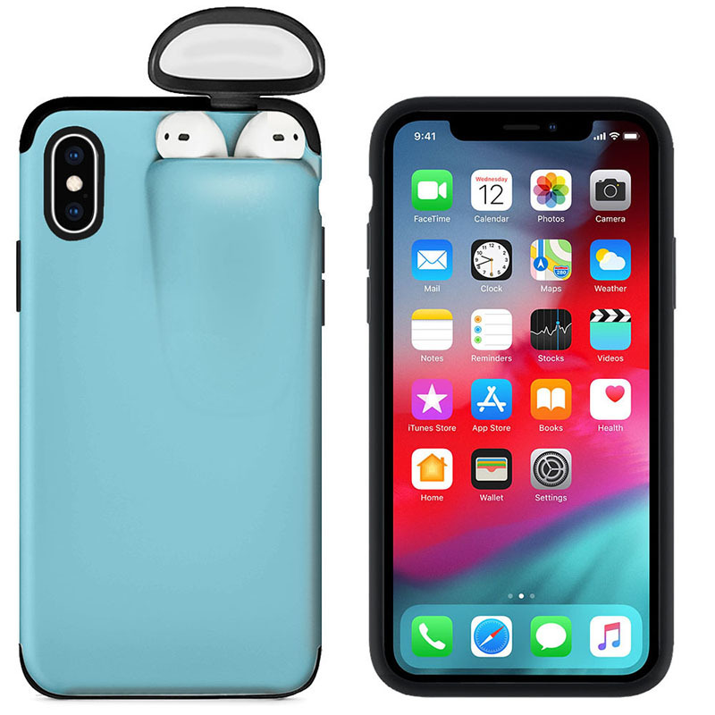 for iPhone 11 Pro Max Case Xs Max Xr X 10 8 7 Plus Cover for AirPods Holder Hard Case Original New Design Hot Sale Dropshipping