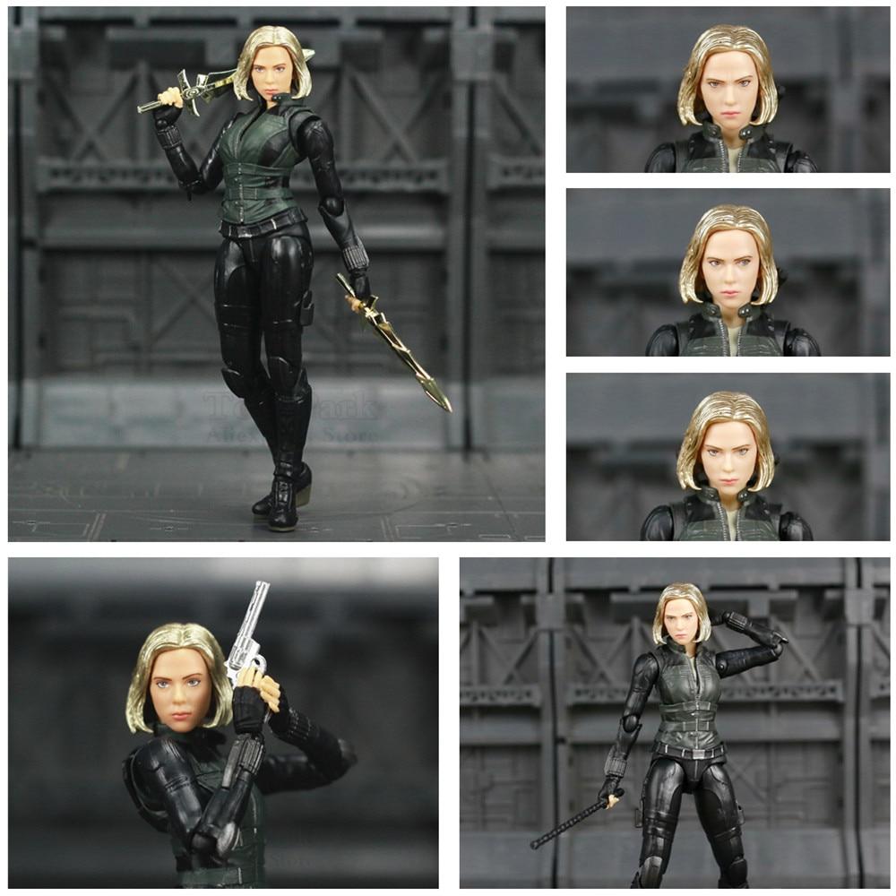 Marvel Avengers Infinity War Black Widow 6