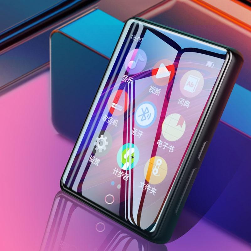 Nieuwste Ruizu M7 Metal Bluetooth 5.0 MP4 Speler Ingebouwde Luidspreker 2.8 Inch Scherm Met E-book Opname Radio Video stappenteller 1