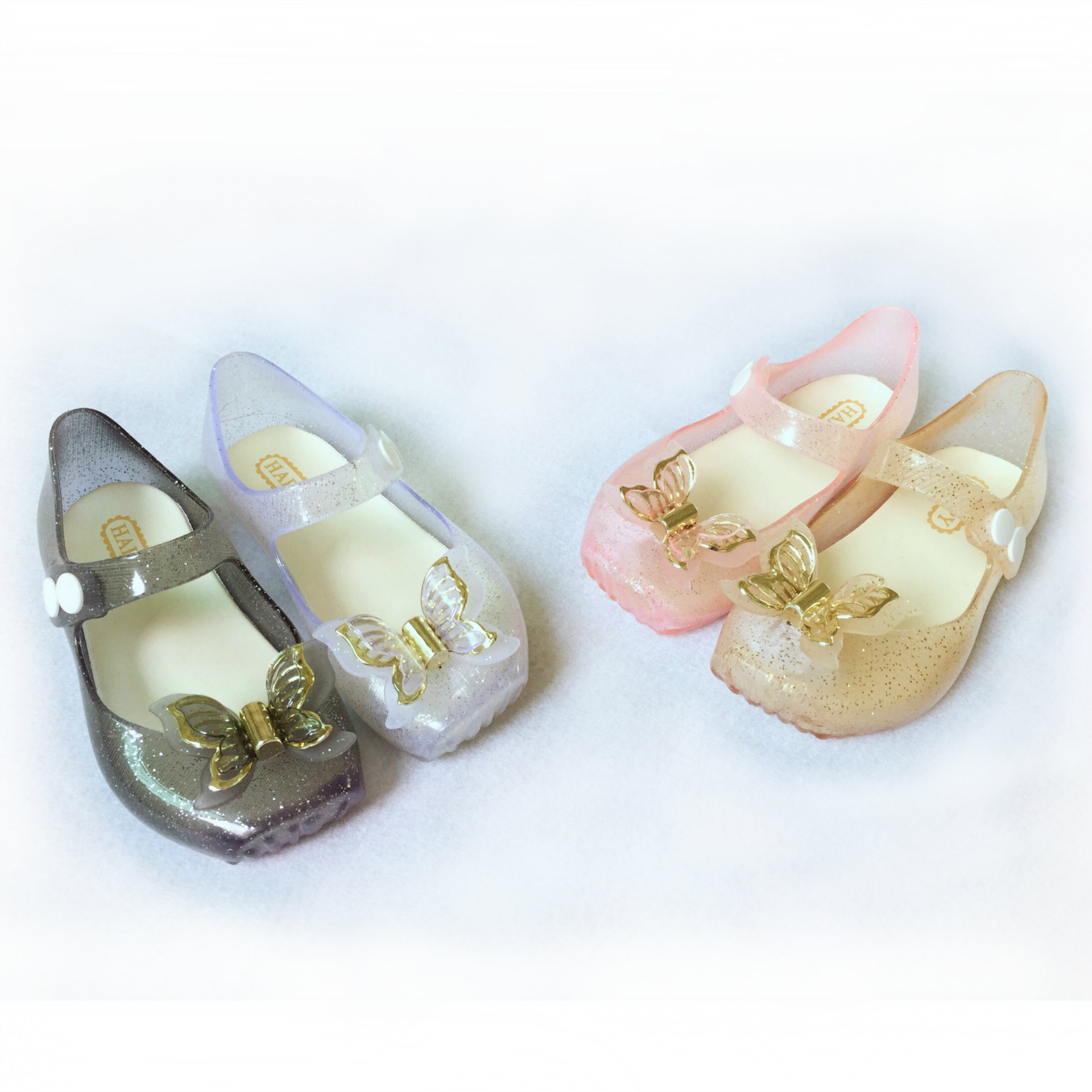 Mini Melissa Girls Shoes Jelly Ballerina Princess Kids Three Layers Bow Sandals*