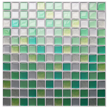 Mosaic Wall Tile Peel and Stick  Self adhesive Backsplash DIY Kitchen Bathroom Home Wall Sticker Vinyl 3D 25