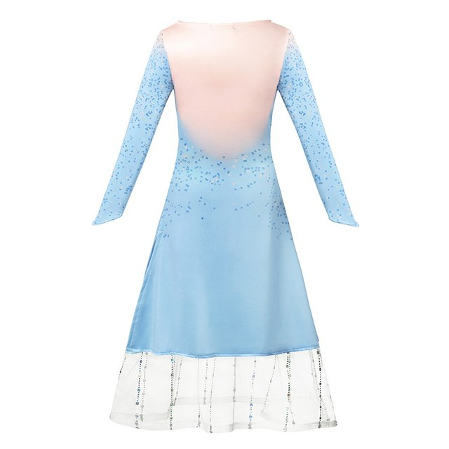 Nieuwe Jaar Kostuum Snow Queen 2 Meisjes Elsa Jurk Kinderen Jas en Leggings Kerst Prinses Kleding Fancy Kostuum Elza Jurk up