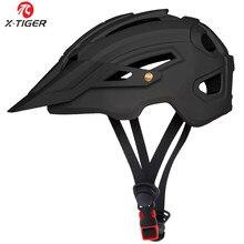 X-TIGER Cycling Helmet TRAIL XC Bicycle Helmet In-mold MTB Bike Helmet Road Mountain Bicycle Helmets Safety Cap Men Women