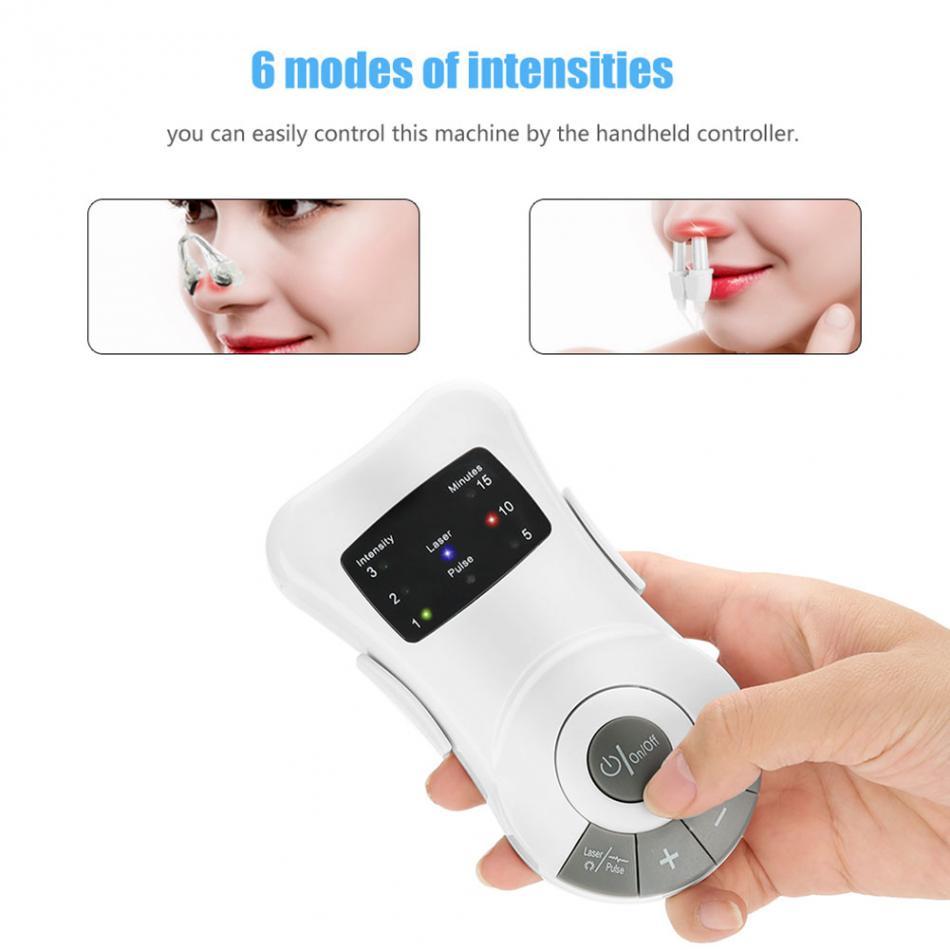 alérgica tratamento a laser massageador máquina