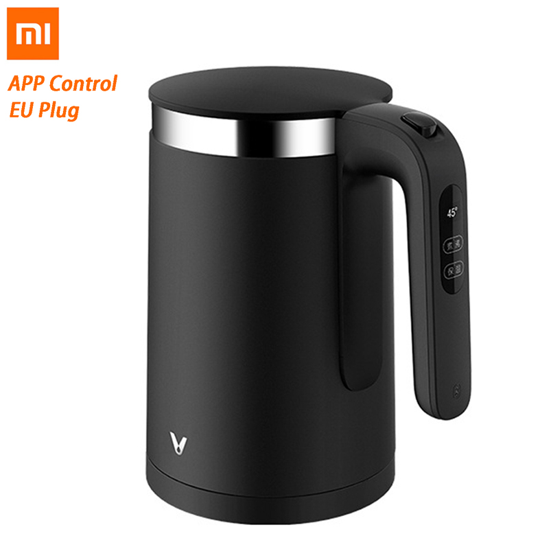 XIAOMI VIOMI Pro Electric Kettle 1.5L 1800W Smart Constant Temperature 5min Fast Boiling OLED Water Kettle Household APP Control