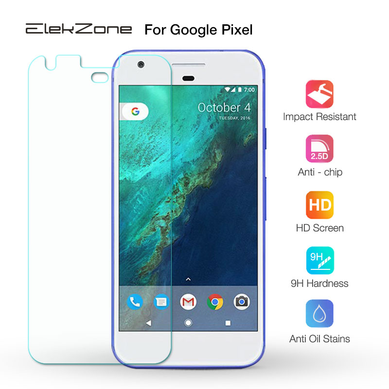 2.5D Ultra Thin Tempered Glass Film For Google Pixel High Quality Screen Protector Protective Film For LG Google Pixel 1