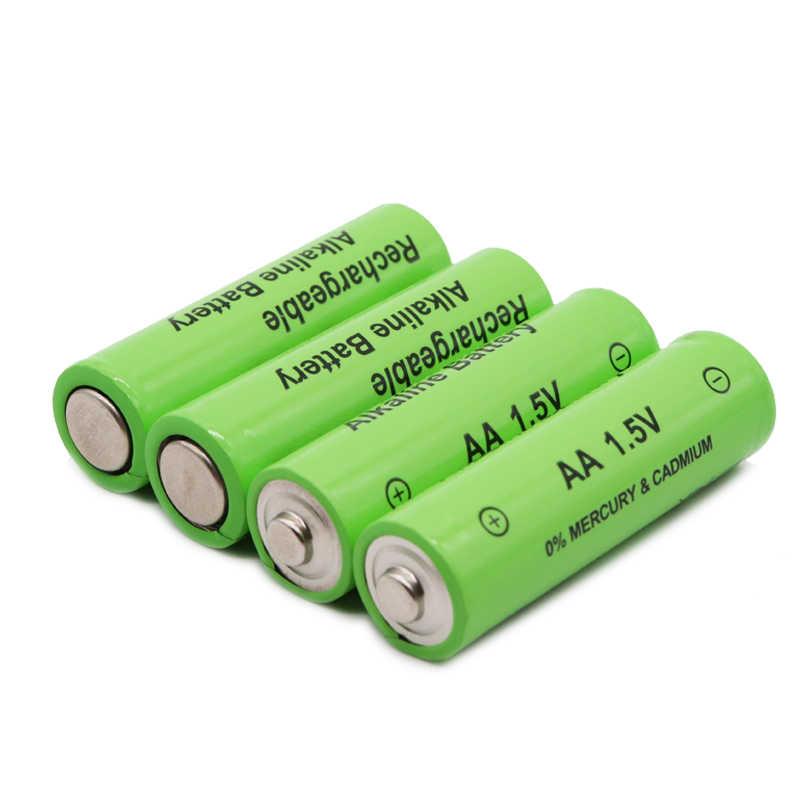 1/2/4/8/10/20PCS AA akku 3000mah 1,5 V Neue alkalischer batery für led licht spielzeug mp3 Kostenloser versand