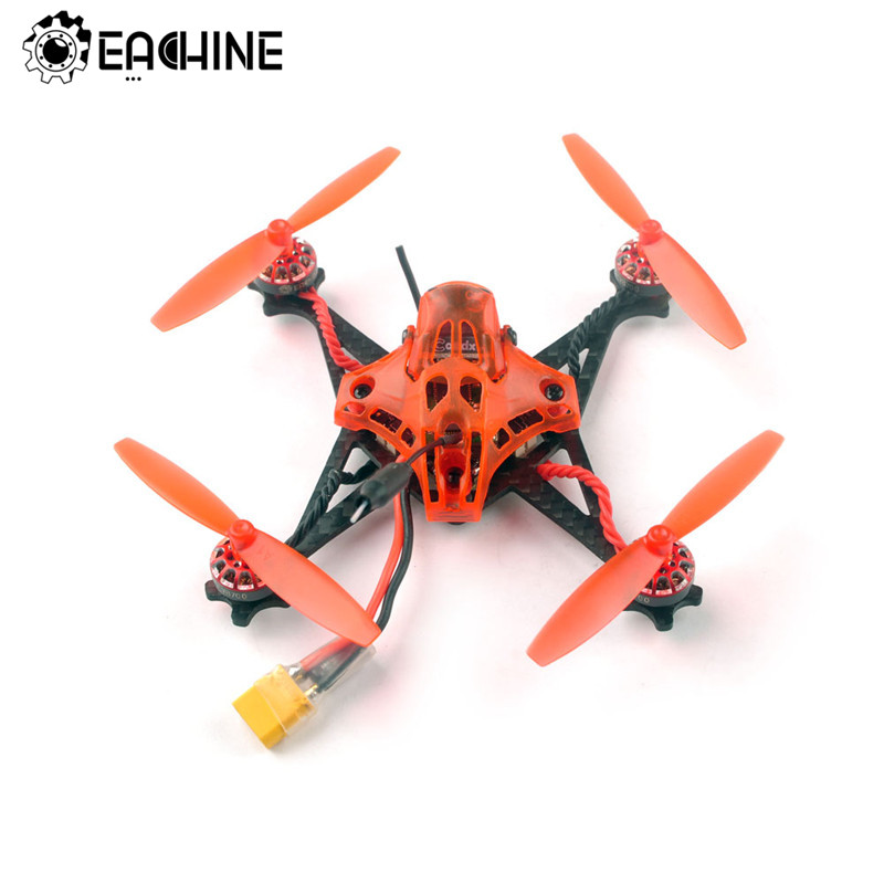 Eachine reddevil 105mm 2-3 s fpv racing drone whoop pnp/bnf crazybee f4 pro caddx eos2 5.8g 25 25 200 mw vtx rc helicóptero quadcopter