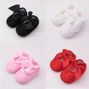 Baby Shoes Non-Slip Soft Fashion Bottom Bow Comfortable