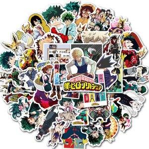 50 * шт, Япония, Харадзюку, аниме, косплей, My Hero Academia, мидория, изюку, Тодороки, Shouto, различные персонажи, стикеры с мультяшным рисунком