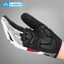 Bike-Accessories Bicycle-Gloves Full-Finger Touch-Screen Outdoor Sport MTB INBIKE Gel-Padded