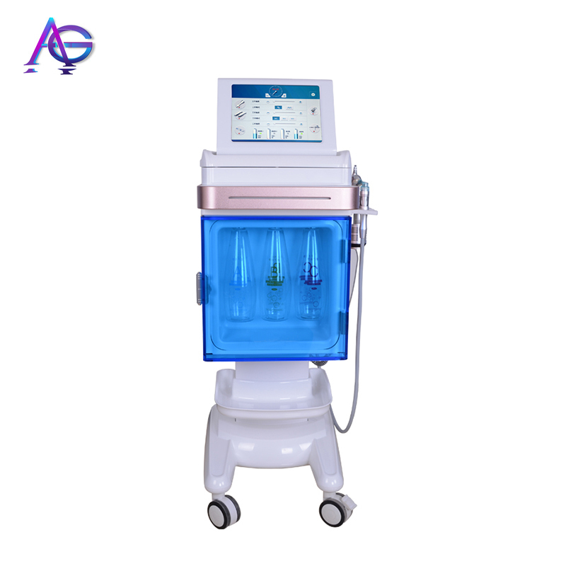Korean 6 In 1 Oxygen Facial Machine For Facial Clean  Skin Mouisture  Skin Rejuvenation And Skin Tightening