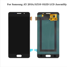 For Samsung Galaxy A5 2016 A510 A510F A510M A510FD OLED LCD Display Touch Screen Digitizer Assembly new tested for samsung galaxy a5 a5100 a51 lcd a510 display with touch screen digitizer assembly 1 piece free shipping