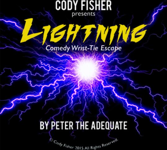 Cody Fisher - Lightening Comedy Wrist-Tie Escape Magic tricks image