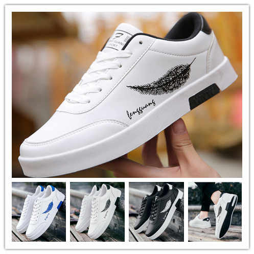 Primavera 2020, zapatos informales para estudiantes, zapatos casuales de lona a la moda, zapatos deportivos para hombres, zapatos de tablero de tendencia