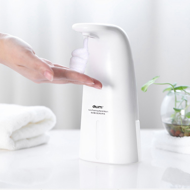 Foam Soap Dispenser Touchless Hand Wash Washer Kitchen Bathroom Automatic Soap Dispenser 0.25S Infrared Induction Sensor