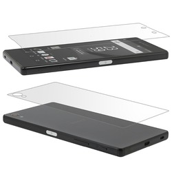 9 h frente para trás vidro temperado para sony xperia z z1 z2 z3 z4 z5 z2a compacto m2 protetor de tela para xperia z5 premium filme de vidro