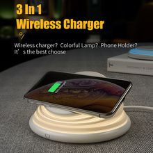 Charging Dock QI Wireless Charger for HUAWEI P30 Pro Mate 20 Pro IPhone X XR XS Max 8 8Plus Samsung Note 8 9 S10e 5G + S9 S9+ S8