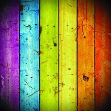 SHENGYONGBAO Vinyl Custom Photography Backdrops Prop colour Wood Planks theme Photo Studio Background TW19907-9705