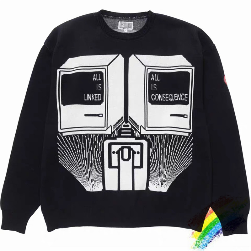 2020ss CAVEMPT C.E Sweater Women 1:1 High Quality Loose Hip-hop Casual Streetwear C.E Cav Empt Sweater