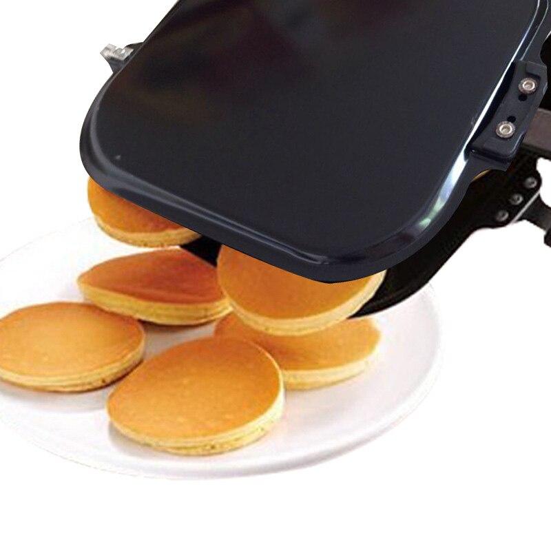 4 Grids Frying Pot Gas-Fired Household Non-stick Omelette Pot Pancake Pan Kitchen Durable Useful Breakfast Maker Steak Fry Pan