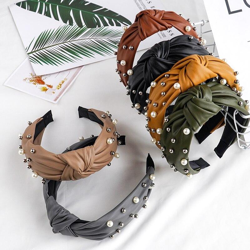 Chen Yan Cwomen's Solid Hairband Fashion Lace Headbands Girl Lovely Headband FG2010