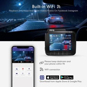 Image 3 - AZDOME 2160P GS63H Car DVR GPS 4K WIFI Dash Camera Dual Lens 1080P Rear View Camera Super Night Vision Dashcam 24H Parking Mode