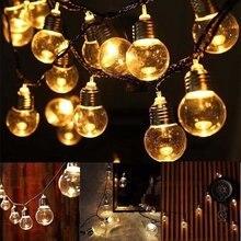 Novelty Party Fairy String Lights 220V EU Plug Globe Patio Light 6M 20 LED G45 Outdoor Home Deocr
