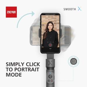 Image 5 - ZHIYUN السلس X Selfie عصا مع 2 محور Gimbal بالو الهاتف الذكي Monopod يده استقرار آيفون هواوي سامسونج