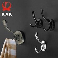 KAK Zinc aleación Vintage bronce gancho perchas gancho de pared para abrigo bolsa sombrero ganchos para baño o cocina Anitque bastidores con tornillos