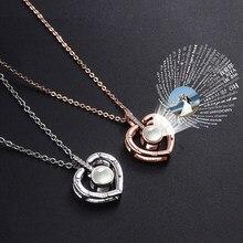 Amantes personalizados nome foto pingente colares encantos projeção animal de estimação imagem gargantilha colar amante casamento romântico presente dos namorados
