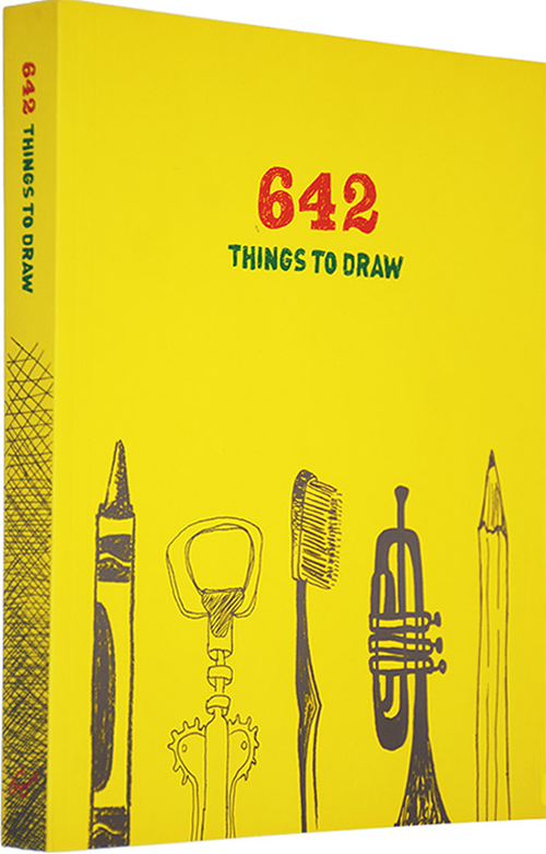 642 Things To Draw: DIY Drawing Book Hand Painting Illustration Tutorial Textbook Random Drawing Artist Gift Varied Drawings
